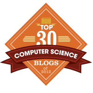 Best Computer Science Blogs 2012