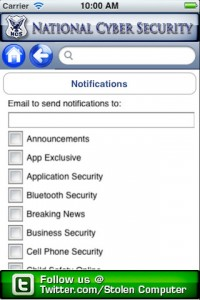 national cyber security for iphone